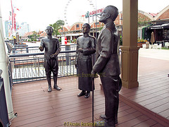 Asiatique the Riverfront in October 2013, Charoen Krung road, Khwaeng Wat Phraya Krai, Bang Kho Laem District, Bangkok, Thailand. (samurai2565) Tags: asiatique theriverfront chaophrayariver marketsinbangkok nightmarketinbangkok asiatiquetheriverfront 2194charoenkrungroad watprayakrai bangkholaem bangkok10120 thailand watrajsingkorn watprakarai