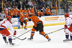 "Missouri Mavericks vs. Allen American, March 22, 2017, Silverstein Eye Centers Arena, Independence, Missouri.  Photo: © John Howe / Howe Creative Photography, all rights reserved 2017 • <a style=""font-size:0.8em;"" href=""http://www.flickr.com/photos/134016632@N02/33477076591/"" target=""_blank"">View on Flickr</a>"