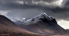 A rugged peak. (lawrencecornell25) Tags: landscape scotland scenery skye isleofskye mountains marsco nature outdoors winter snow cold nikond5