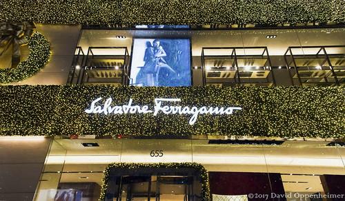 Salvatore Ferragamo Store on Fifth Avenue in NYC