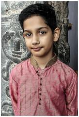 Keep Calm and Love God! (EXPLORED) (Ramalakshmi Rajan) Tags: mynephew wishes newyearwishes tamilnewyear potraits portrait kids boys littleboys canon canoneos1100d