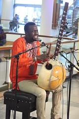 Sura Susso (2017) 01 (KM's Live Music shots) Tags: worldmusic thegambia mandinka traditionalmandinkamusic surasusso kora fridaytonic southbankcentre