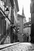 Anenská street in B&W (JirkaCaletka) Tags: street prague praha nikon d3300 nikonphotography photo photography jirka caletka bw noiretblanc black white grey sun light digital oldtown seebw 55200 česko czech ceskarepublika czechrepublic