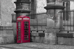 1980s Athena cliche poster.. (216of365) (Reckless Times) Tags: poster red telephone box english england tourist travel oxford university oxforduniversity mono selectivecolour colour selective nikon d750 project 365
