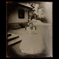 (czarnobialykwadrat!) Tags: collodion gas mask wet wetplate kolodion ambrotype ambrotyp petzval