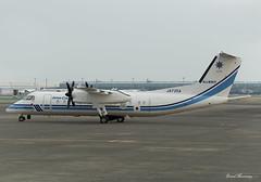 Japan Coast Guard Dash-8 JA725A (birrlad) Tags: tokyo haneda hnd international airport japan aircraft aviation airplane airplanes coast guard search rescue parked apron ramp ja725a de havilland canada dhc8311 dash mpa dh8c dash8 turboprops prop