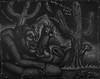 werecat courtship (Tom McKee / Art Guy) Tags: visionary visionaryart artvisionary drawing dark deviant surreal surrealism surrealist narrative narrativeart ink prisma pencil pen lowbrow