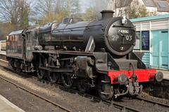 Black 5 44806 at Grosmont (Alun EH) Tags: black5 44806 grosmont northyorkshiremoorsrailway nymr