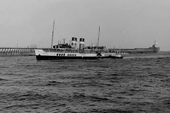 Waverley Blyth 1981 (silvermop) Tags: ship boats ships sea port river blyth waverley