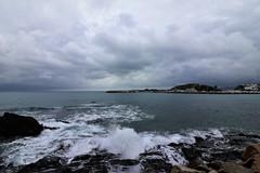 Empordà_1287 (Joanbrebo) Tags: llançà girona lempordà canoneos80d eosd autofocus mar sea mediterrani mediterráneo seascape nubes nuvols clouds naturaleza nature natura efs1018mmf4556isstm