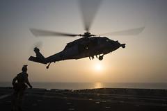 170329-M-EO036-270 (U.S. Department of Defense Current Photos) Tags: 24thmarineexpeditionaryunit 24thmeu marines maritimeraidforce fastrope fastroping sh60seahawk deployed deployment bataanamphibiousreadygroup ussbataan ussmesaverde usscarterhall ussbataanlhd5 us5thfleetareaofresponsibility