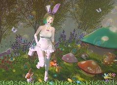 - Look 779 - Ovinhos ! (aisha.cahir ✿ {Blogger}) Tags: secondlife free kawaii candykitten ck bunny easter páscoa cute love hairfree giftgroup bow bag dress boot earsbunny lessucreriesdefairy gift thegachaguardians mesange eyesmesh bang chapterfour