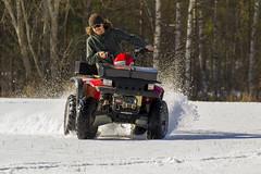 #atv #snow #winter #spring (anderswiik2) Tags: spring atv winter snow sweden