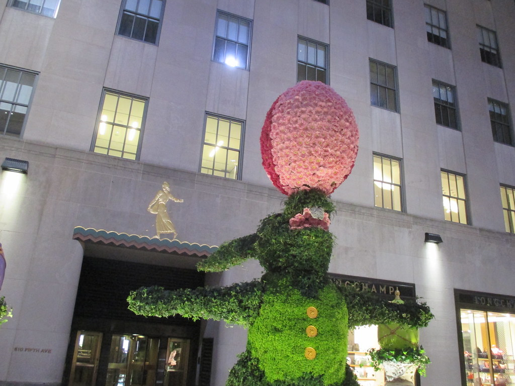 49fd31c4154e Happy Easter Bunny Topiary Tree Flowers Rockefeller Center 2017 NYC 4421  (Brechtbug) Tags