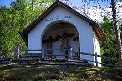 Chapel of Rietz Calvary Tyrol Austria (elzbietafazel) Tags: chapel calvary tyrol tirol austria rietz alps mountains jesus religious faith christian catholic cross stations wayofsorrows christ sorrows woodland pilgrimage contemplation passion easter