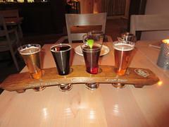 Flight of Beer (jamica1) Tags: okanagan bc british columbia canada beer flight kvp kettle valley pub pentiction