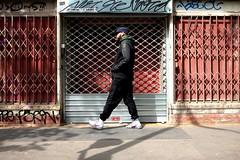 Grids 71-2017 ( serie walkers ) (Kairos !) Tags: walk walking walker walkers urban city street streetview streetwalk streetphotography streetphotographer fujifilm fujixt10