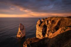 Étretat après l'orage, Normandie, France (boooHguy) Tags: paysages mer sunset étretat etretat normandie coucher