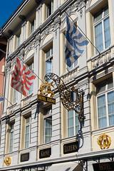 Hotel Krone (Joey Hinton) Tags: olympus omd em1 lucerne switzerland mft m43 microfourthirds hotel krone 1240mm f28