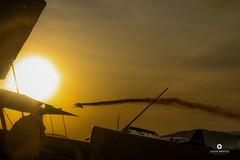 (bastosphotography) Tags: sun airplane plane sky smoke maneuver flight airport pilot aero aerorock skipstewart