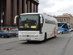 DSCN2860 Eurobus, Yaroslavl С 657 ЕО 76 (Skillsbus) Tags: buses coaches russia ferienfreund germany mercedes tourismo