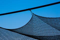 Baseball Batting Cage (Knox College) Tags: knoxcollege battingcage79272 baseball mathematics