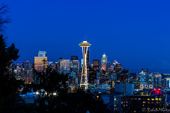 Space Needle (Rohan Mhatre) Tags: 5dmarkii america blue hour building canon city colorphotoaward downtown dusk explore explored grunge light night noche noctambule nocturne nocturnes northwest nuit pacific puget sound scenery seattle sky skyline skyscraper sunset tower town twilight usa view vista washington architecture outdoor mt rainier