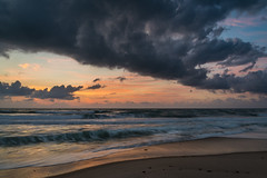 Earth Day Sunrise - Indian Harbour Beach, FL (ChuckPalmer {cepalm}) Tags: indianharbourbeach sunrise ocean chuckpalmer