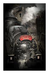 Steam (Sandra Draper) Tags: train engine station railway yorkshire steam