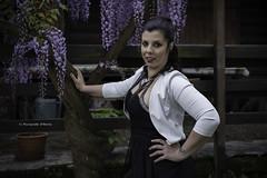 Silvia Sannino - Curvy model (Pasquale D'Anna) Tags: silvia sannino curvy model ritratto ticino glicine
