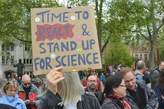 March for science. (philip robins) Tags: academics blindedwithscience boffins centrallondon climatedenial cutstofunding marchforscience noplanetb students