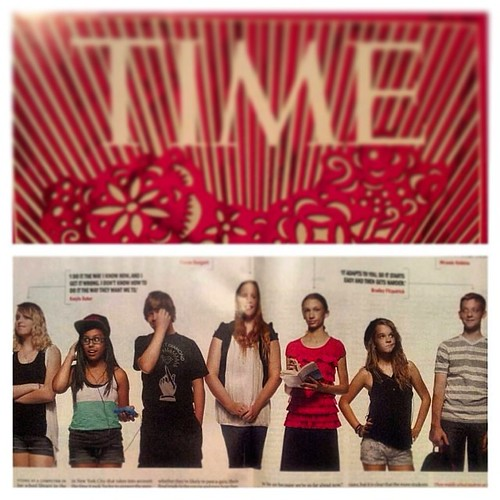 Flashback Friday... Back to that moment I was in Time Magazine. Ok I was in the crease of Time magazine lol #TIME #Magazine #Knewton #2013 #FlashbackFriday #Math