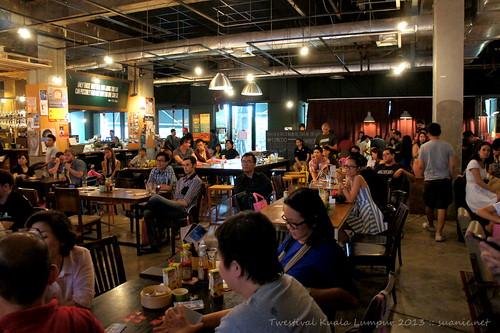 Twestival Kuala Lumpur 2013 - crowd