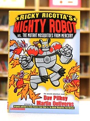 Ricky Ricotta's Mighty Robot vs. the Mutant Mosquitoes (Ricky Ricotta) (Vernon Barford School Library) Tags: new school animal animals mouse reading book robot high martin mercury library libraries reads books super read paperback robots mice mosquito cover hero junior covers mutant heroes vs bookcover pick middle vernon quick mighty ricky recent dav picks bookcovers mosquitoes nonfiction paperbacks versus barford softcover ontiveros pilkey vernonbarford softcovers ricottas superquickpicks superquickpick 9780590307222