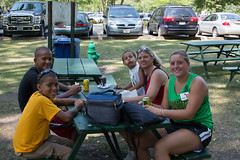 UWGB Alumni Family Day at Bay Beach