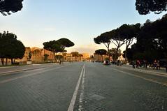 Via dei Fori  Imperiali (skynyrd_01) Tags: roma nikon foriimperiali d90 nikond90 skynyrd01