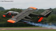 99+32 - OV-10 Bronco (iainthomson84) Tags: uk force aircraft air royal airshow international departures raf 2012 fairford airtattoo