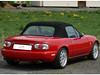 23 Mazda MX5 - NA 1989 - 1998 Verdeck mit RENOLIT Flexglas und seitlichen Regenrinnen rs 02