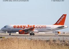 easyJet UK G-EZWB @ Nice Cote d'Azur Airport 22-02-2014 (Nabil Molinari Photography) Tags: uk nice airbus cote easyjet 2012 dazur lfmn a320214 cfm565b4 gezwb cn5224