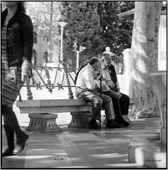 Time passes by_Hasselblad (ksadjina) Tags: 6x6 film analog blackwhite spain scan mallorca hasselblad500cm silverfast kodak400tmax 10min adoxaph09 nikonsupercoolscan9000ed carlzeisssonnar150mmf14