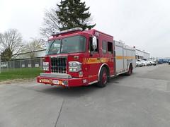 Toronto Fire Pumper 141 (Canadian Emergency Buff) Tags: toronto ontario canada crimson fire bucket department 141 services spartan dept brigade tfd pumper dependable tfs metrostar p141