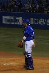 DSC06355 (shi.k) Tags: 神宮球場 横浜ベイスターズ 140516 嶺井博希 イースタンリーグ
