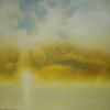 sun over water 110 x 120cm