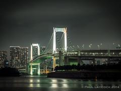084 (amipal) Tags: japan skyline night tokyo long exposure slow shutter rainbowbridge