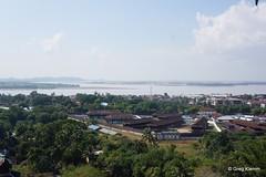 View from Kyaik Than Lan Pagoda, Mawlamyine (Go-Myanmar.com) Tags: burma myanmar moulmein mawlamyaing mawlamyine