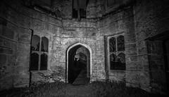 Dunmore House (BusterBB001) Tags: longexposure house night dark fire scotland shadows stirling tunnel dungeon spinning smokey buster euphoria bb cellar falkirk dunmore wirewool davidhannah