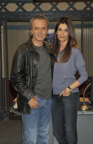 José Coronado y Elia Galera