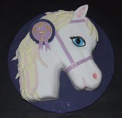 Barbie Pony Cake (Alixs Cakes) Tags: birthday cake carved barbie pony sponge fondant alixscakes