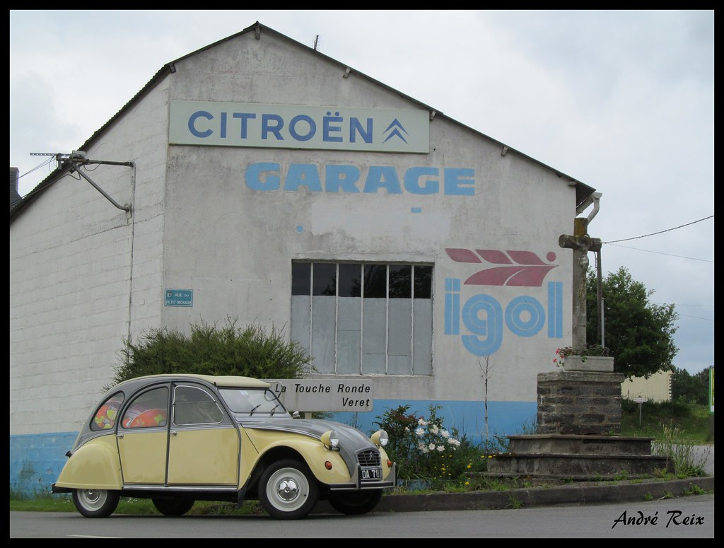 The world 39 s best photos of citroen and publicite flickr for Garage ad france