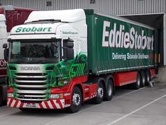 Eddie Stobart Ltd. PF13 HNU. H6727. Patsy Jay. (Drive-By Photography) Tags: eddie scania stobart r440 pf13hnu patsyjay